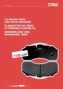 TRW_Proequip_Brake_Pad_Catalogue_Cover