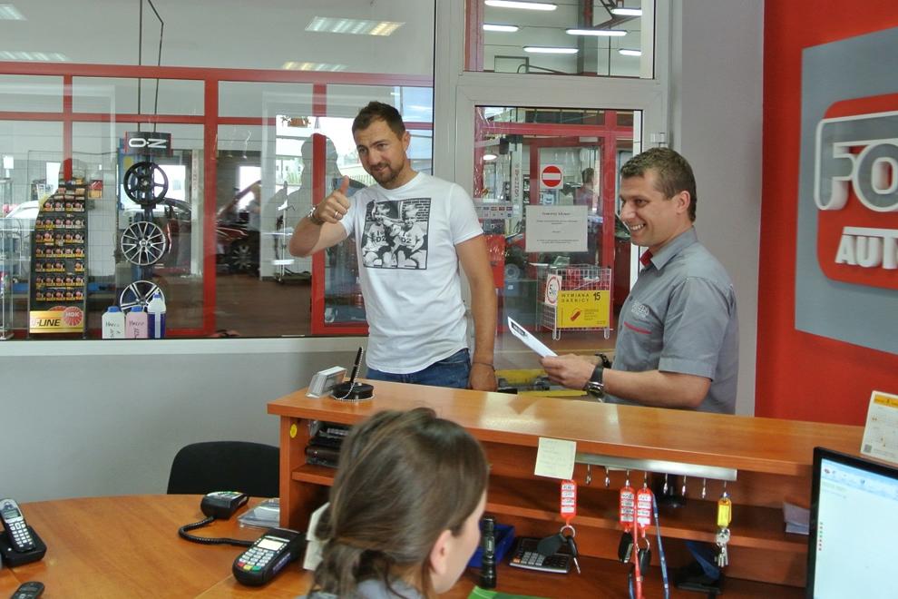 Jerzy Dudek w warsztacie