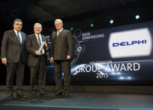 Delphi VW Group Award '15 LD