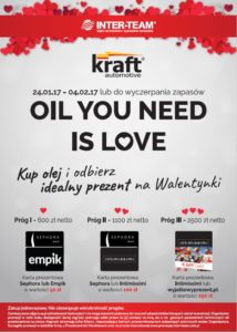 Oil you need is love