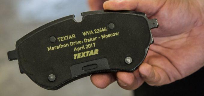 Dakar-Moskwa z klockami Textar