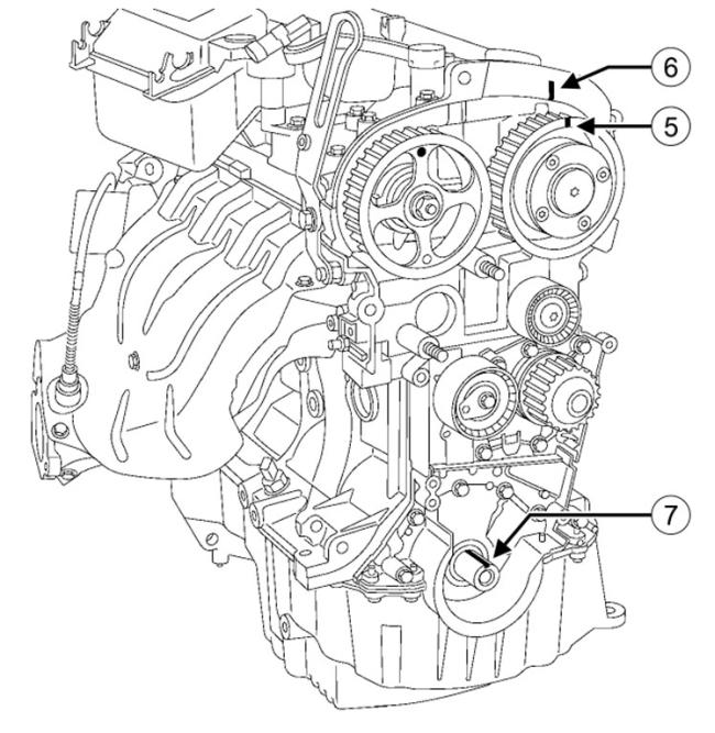 wymiana paska rozrz u0105duw renault megane 1 6  silnik k4m